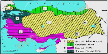 Turkiyede-Iklim-Elemanlari